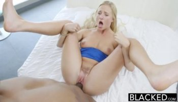 Pretty blonde getting bondaged and punished hard